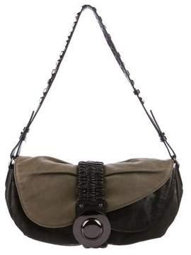 Diane von Furstenberg Meredith Leather Shoulder Bag