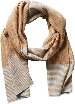 Portolano Men's Tan Dorset Wool & Cashmere-Blend Scarf
