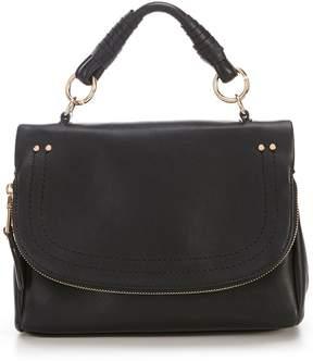 Sole Society Rubie Zipper Flap Cross-Body Bag