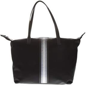 Hogan Black Nylon Shopper Bag