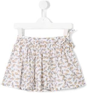 Simple pineapple print skirt
