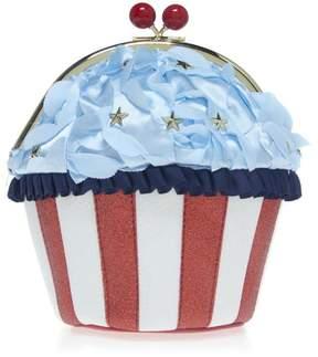 Betsey Johnson Baked in the USA Cupcake Crossbody