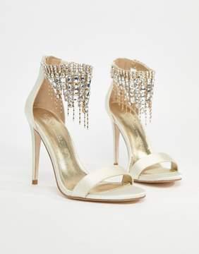 Asos HALCYON Bridal Embellished Heeled Sandals