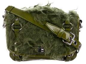 Miu Miu Mongolian Lamb Crossbody Bag