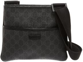 Gucci GG leather crossbody bag - BLACK - STYLE