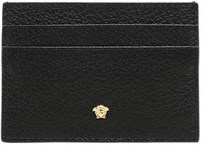 Versace Tumbled Leather Card Holder