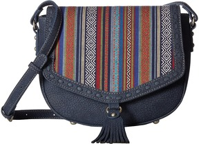 American West - Boho Rainbow Flap Crossbody Cross Body Handbags