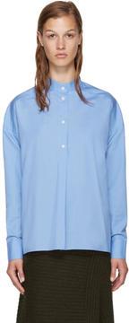 Each X Other Blue Band Collar Shirt