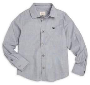 Armani Junior Little Boy's & Boy's Cotton Medi Shirt