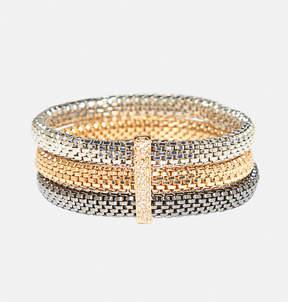 Avenue Tonal Mesh Stretch Bracelet