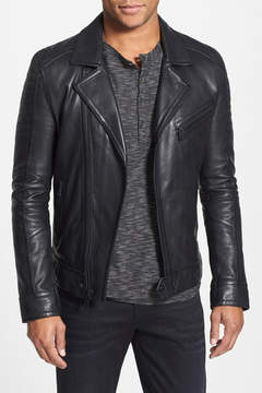 Andrew Marc Brayden Quilted Leather Moto Jacket