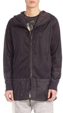 Madison Supply Hooded Mesh Jacket