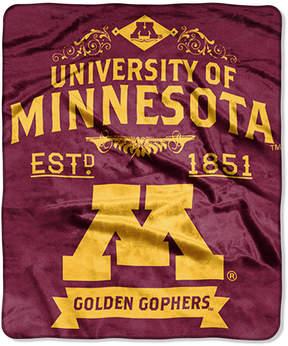 Northwest Company Minnesota Golden Gophers Raschel Rebel Throw Blanket