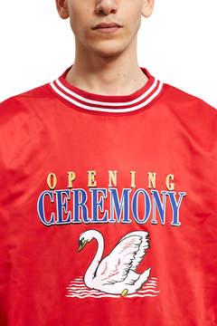 Opening Ceremony OC Satin Pullover