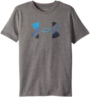 Under Armour Kids Cotton Big Logo Tee Boy's T Shirt