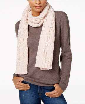 Charter Club Cable-Knit Scarf, Created for Macy's