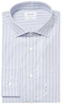 Façonnable Men's Striped Club Fit Dress Shirt