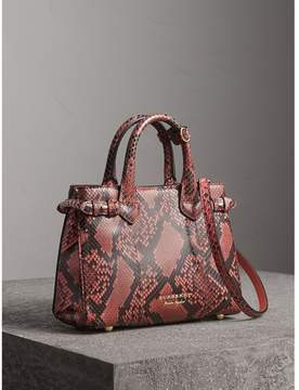 Burberry The Small Banner in Python - PEONY - STYLE