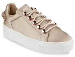 KENDALL + KYLIE Rae3 Satin Platform Sneakers