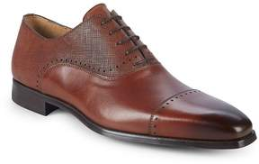 Saks Fifth Avenue by Magnanni Men's Textured Leather Oxfords