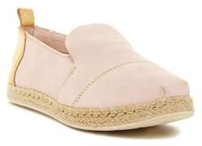 Toms Deconstructed Alpargata Suede Slip-On Sneaker