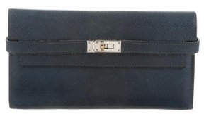 Hermes Epsom Kelly Longue Wallet - BLUE - STYLE