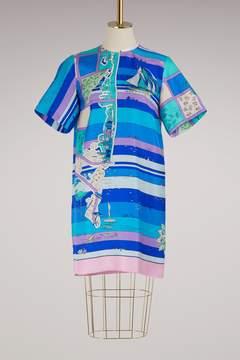 Emilio Pucci Florida printed silk dress