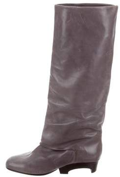 Marc Jacobs Leather Knee-High Boots
