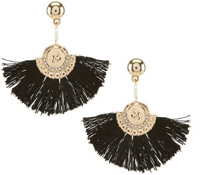 Anna & Ava Stella Tasseled Fan Statement Earrings