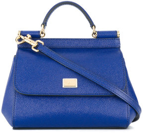 Dolce & Gabbana mini Sicily tote - BLUE - STYLE