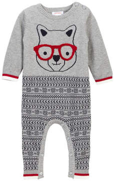 Joe Fresh Printed Knit Romper (Baby Boys)