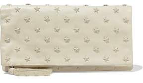 RED Valentino Studded Leather Pouch