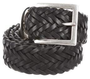 Rag & Bone Woven Leather Belt w/ Tags