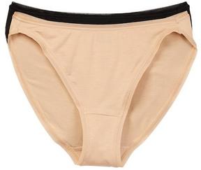 Felina So-Smooth High Cut Panties - Pack of 2