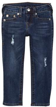 True Religion Geno Single End Distressed Jeans (Toddler & Little Boys)