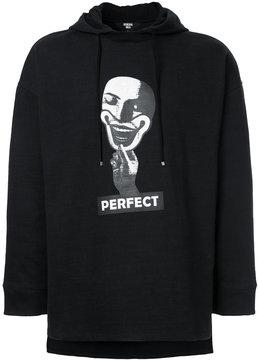 General Idea printed oversized hoodie