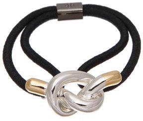 Colette Malouf Metal Knot Ponytail Holder