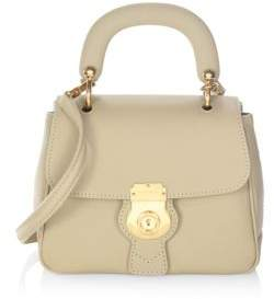 Burberry Trench Leather Top Handle Bag - HONEY - STYLE