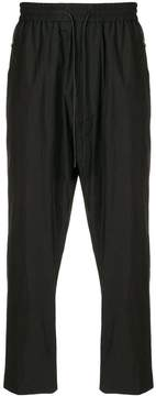 Juun.J cropped high-waisted trousers