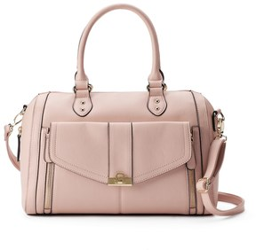 Apt. 9® Olivia Double Zip Barrel Bag
