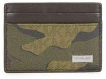 Michael Kors Military Card Case