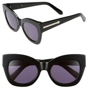 Karen Walker Women's Northern Lights V2 51Mm Cat Eye Sunglasses - Black