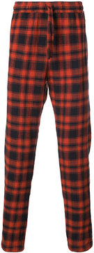 Faith Connexion plaid drawstring trousers
