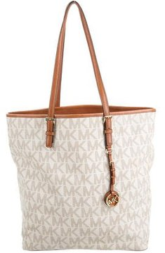 MICHAEL Michael Kors Monogram Jet Set Tote - ANIMAL PRINT - STYLE