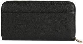 Dolce & Gabbana Dauphine Long Wallet - BLACK - STYLE