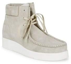 Calvin Klein Leather Chukka Boots