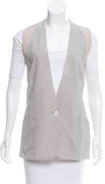 Damir Doma Single-Button Light Weight Vest w/ Tags