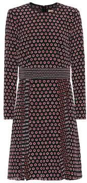 Burberry Silk-crêpe dress