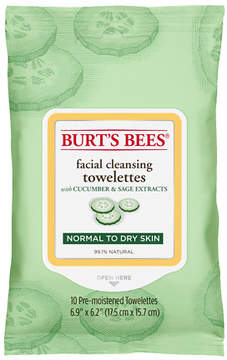 Burt's Bees Facial Cleansing Towelettes Cucumber & Sage