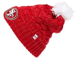 '47 Junior Women's 'San Francisco 49Ers' Pom Beanie - Red